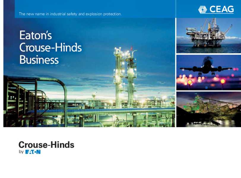 New Products and Brochures | CROUSE-HINDS SERIES