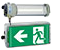 Explosion protected exit luminaires