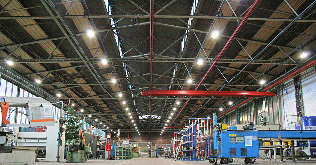New IHB LED light fittings for industrial areas